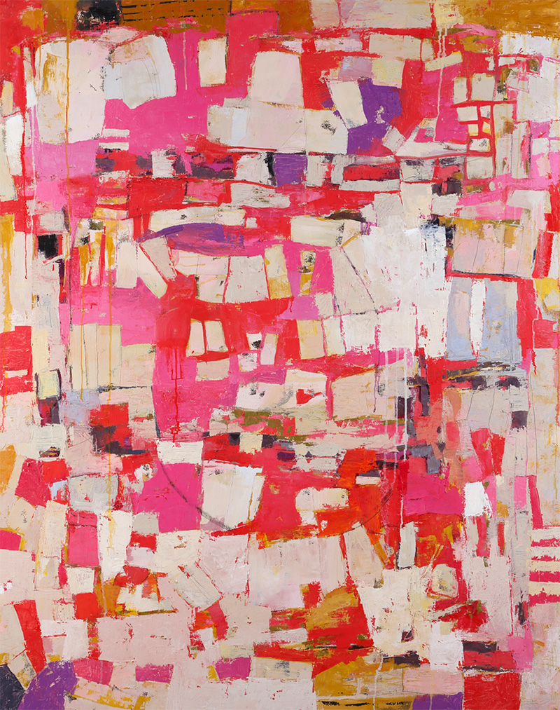 """Runaround"" by Cheryl Chapman, 60x48in, oil on canvas, $4800   