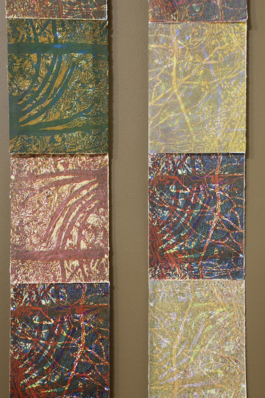 """""""Seasonal Rhythms (detail)"""" by Susan Moffett"""