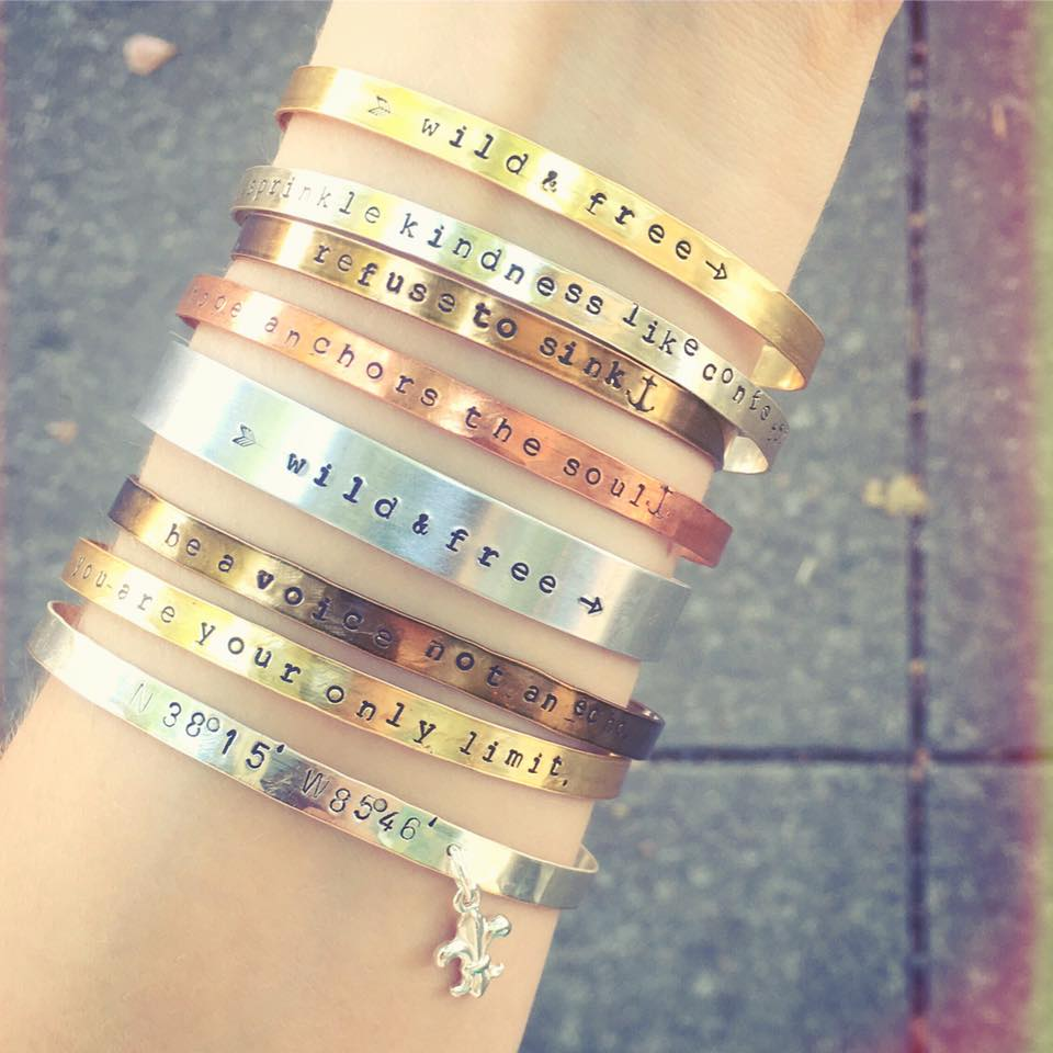 """Inspiration Bracelets"" by Gretchen Leachman"