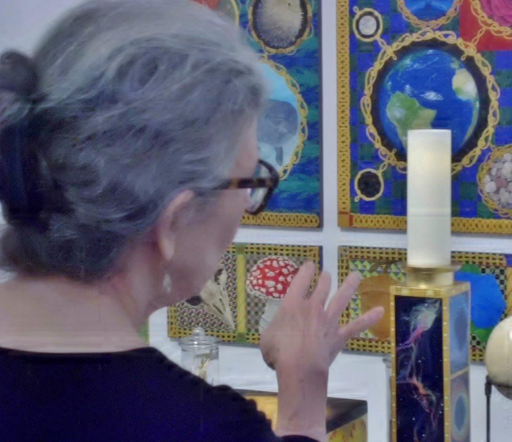 Artist Wendi Smith talking about her work.