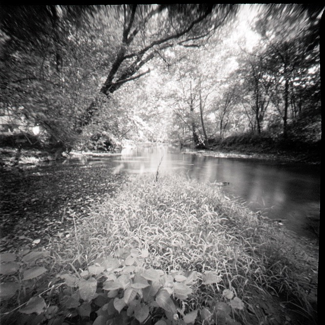 """Kentucky River, UZ, KY"" by Probus, 11x11in, silver gelatin print (2016), $300 