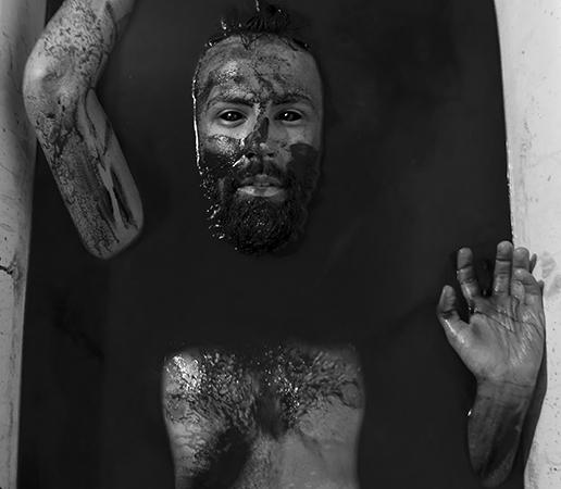 """Self Portrait"" by James Bixler, 12x9in, digital media print (2015), $100 | BUY NOW"