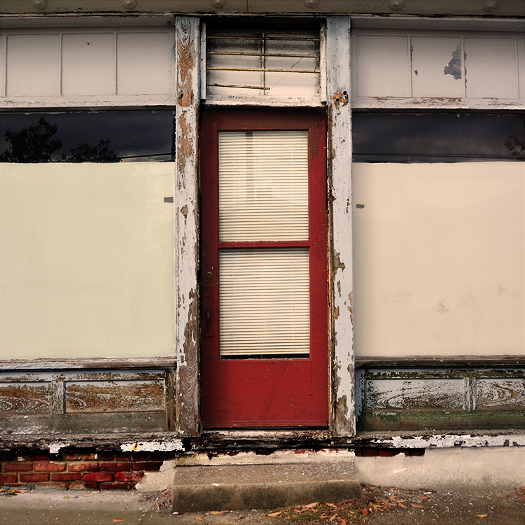 """Louisville Door Series"" (1 of 12) by Violet Herrmann, 10x10in, photograph (2014)"