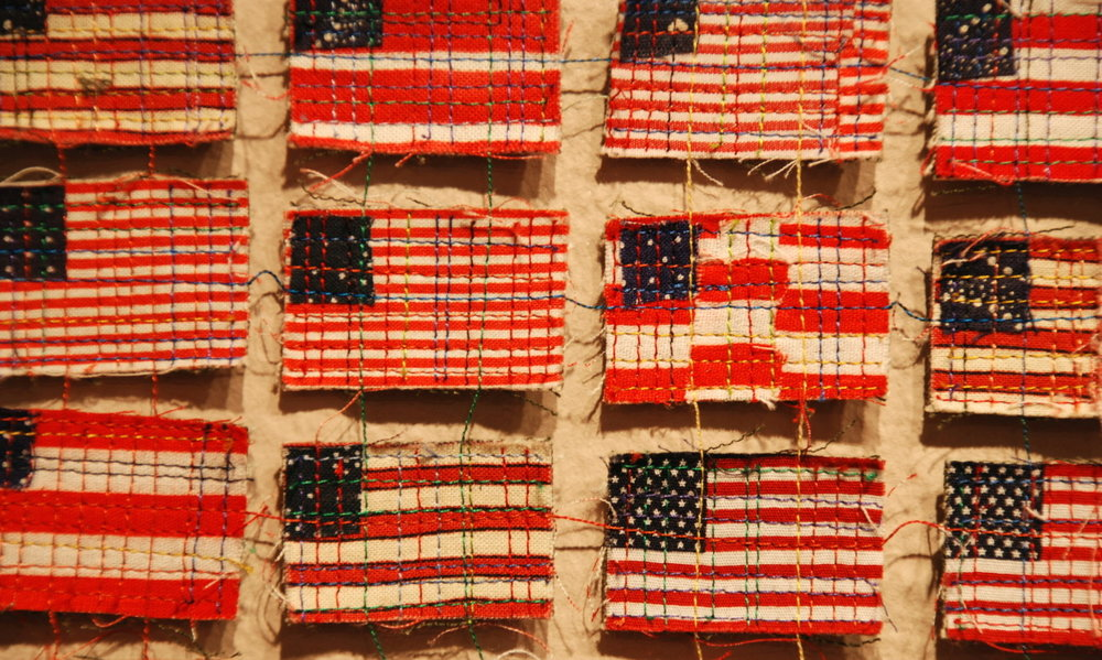 """Postage 3: Memorial Day"" (detail)"