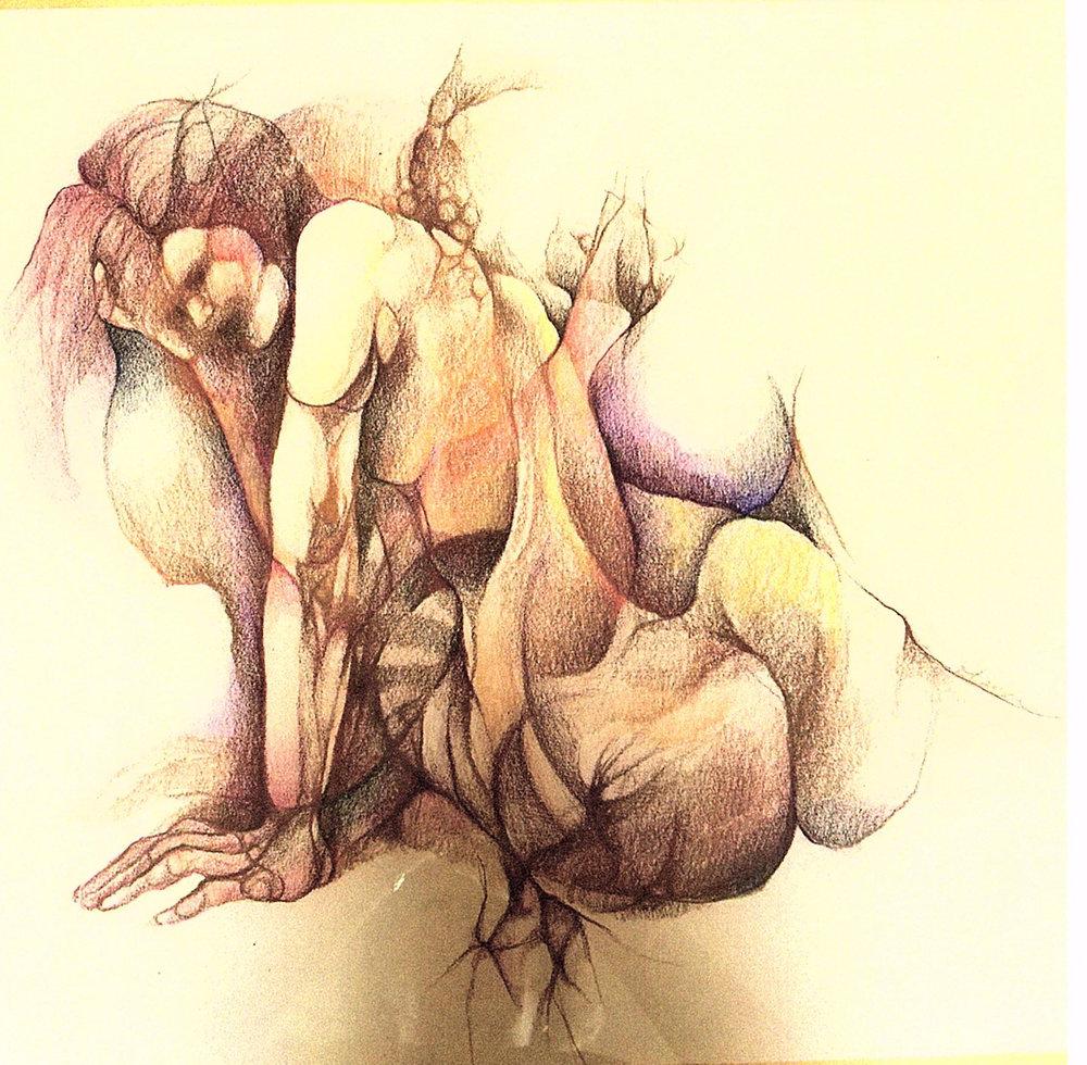 """""""Nude X"""" by Dorothy Kavka"""