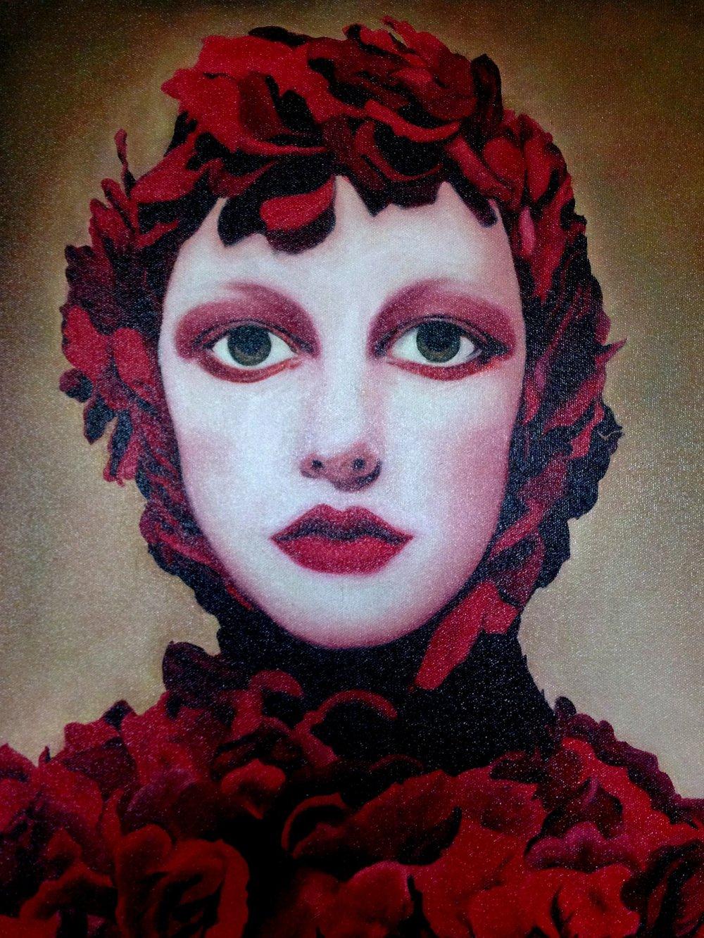 "Felice Pierce, ""Rose Girl"""