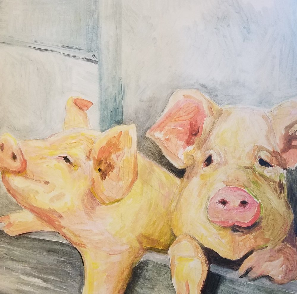 Kari Haan's painting