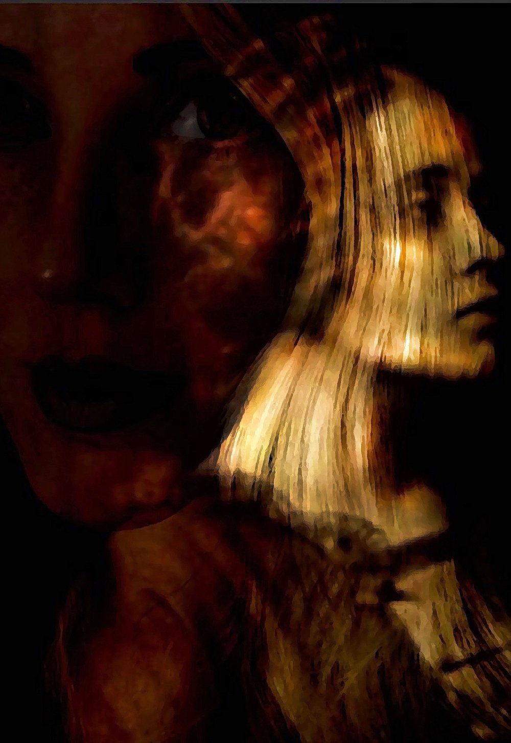 """Treva"" by Jacqlynn Hamilton, 8.5x11in, digitally manipulated photographic image (2017) $125 