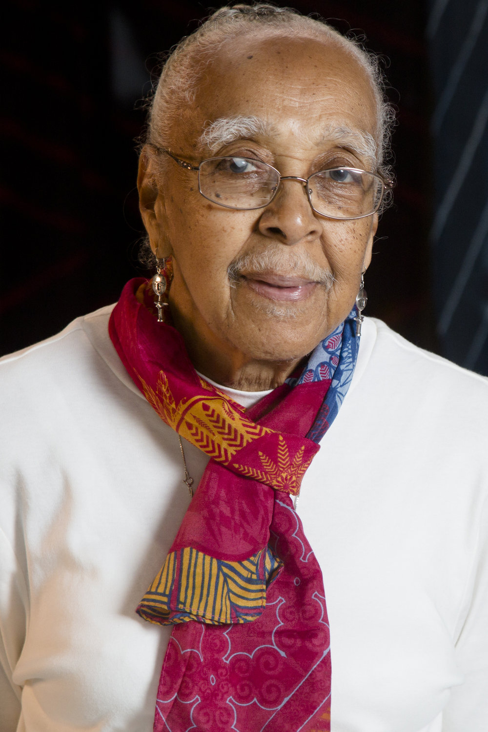 Artist Elmer Lucille Allen ( Photo by Tom LeGoff)