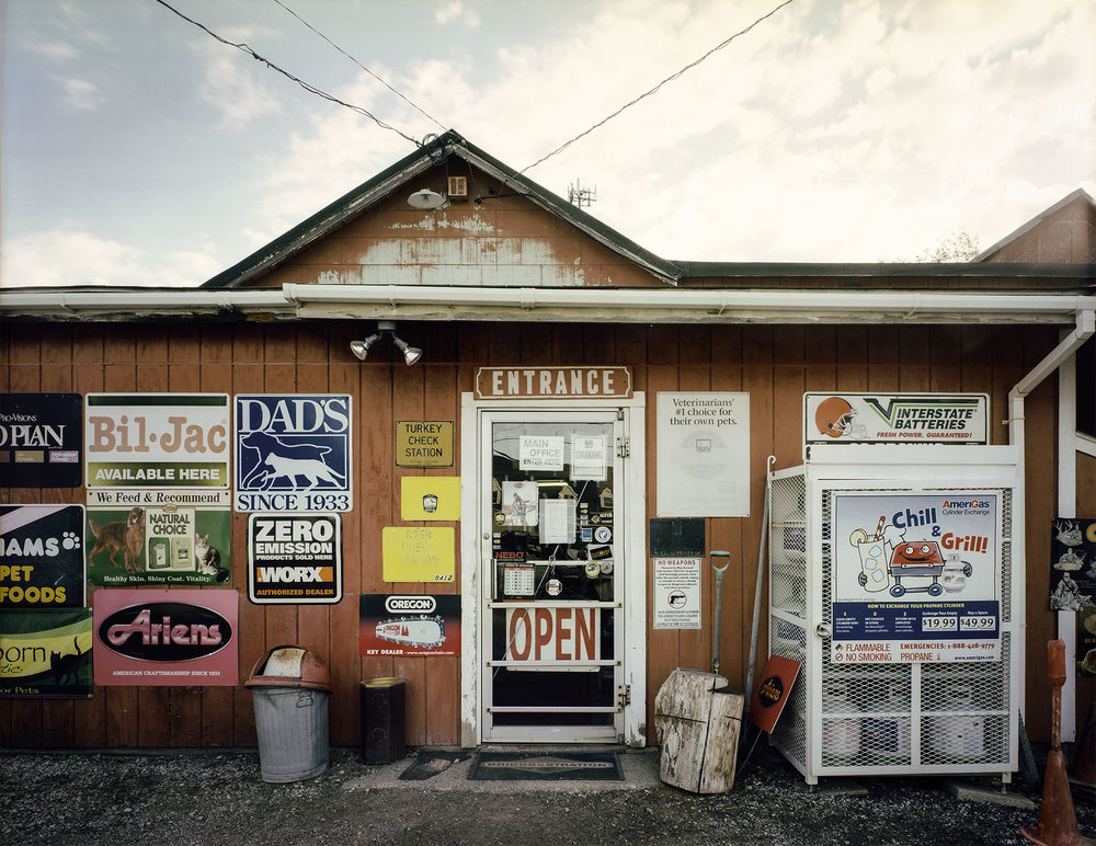 """Krays Hardware"" by Charles Mintz, 32 x 40in, Inkjet Print From Scanned FIlm (2015), $1000 
