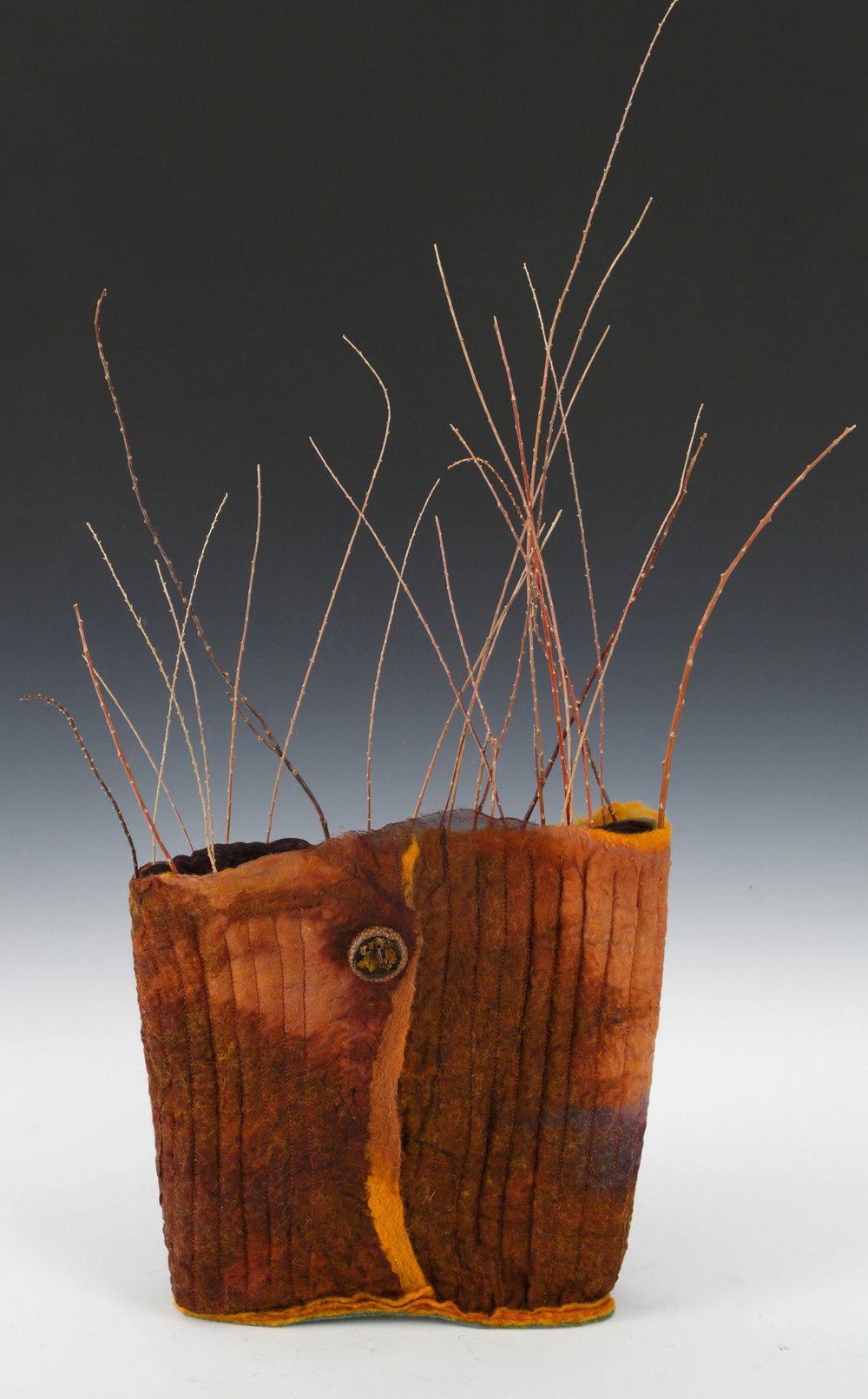 """Woodland Vessel"" by Vallorie Henderson"