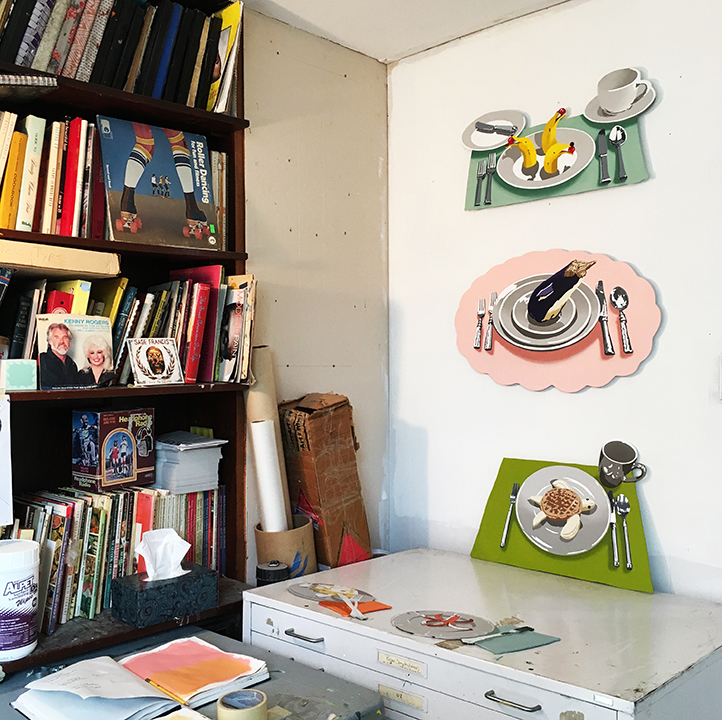 Larusso's studio