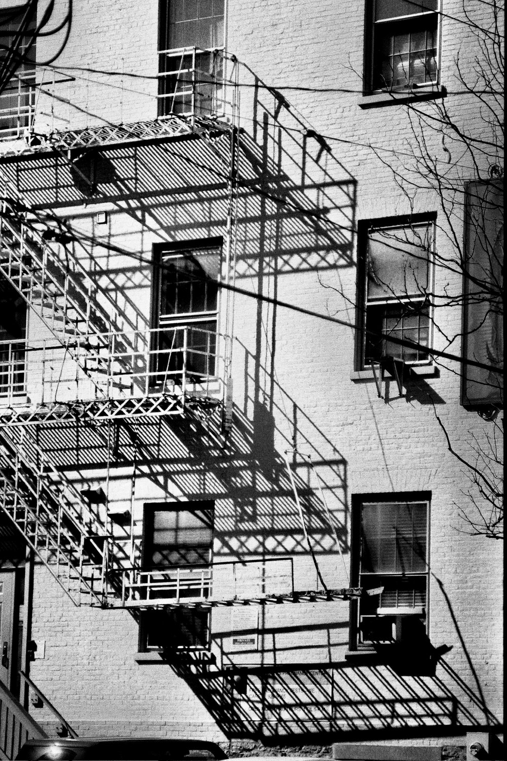 """Fire Escape"" by Brett Sutton, size made to order, film photography (2017), from $85 and up 