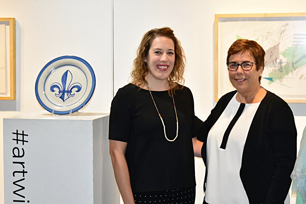 "Adrienne Miller, Susan Barry   ""The selection committee was very impressed with Adrienne's clear artistic vision and the unique nature of her enrichment experience,"" said LVA director Lindy Casebier. ""Her focus on landscape, both as a part of the American identity and as a driver of her own work, really stood out.""  ""The local artists competing for the Hadley Prize continue to impress us with their originality and passion,"" said Susan Barry, President and CEO of the Community Foundation of Louisville. ""While this award focuses on a single artist and a single project, it has the potential to make a much greater impact. By helping Adrienne develop professionally to realize her full potential, she will be empowered to share her gifts with other artists and the Louisville community."""