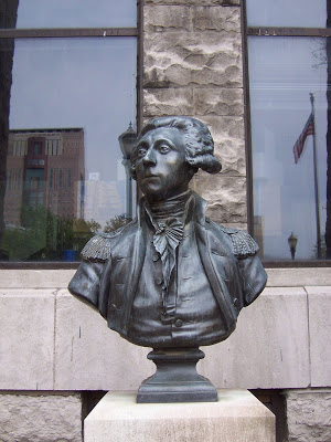 Marquis Marie de Lafayette by Jean-Antoine Houdon (after). Photo by Michael Popp
