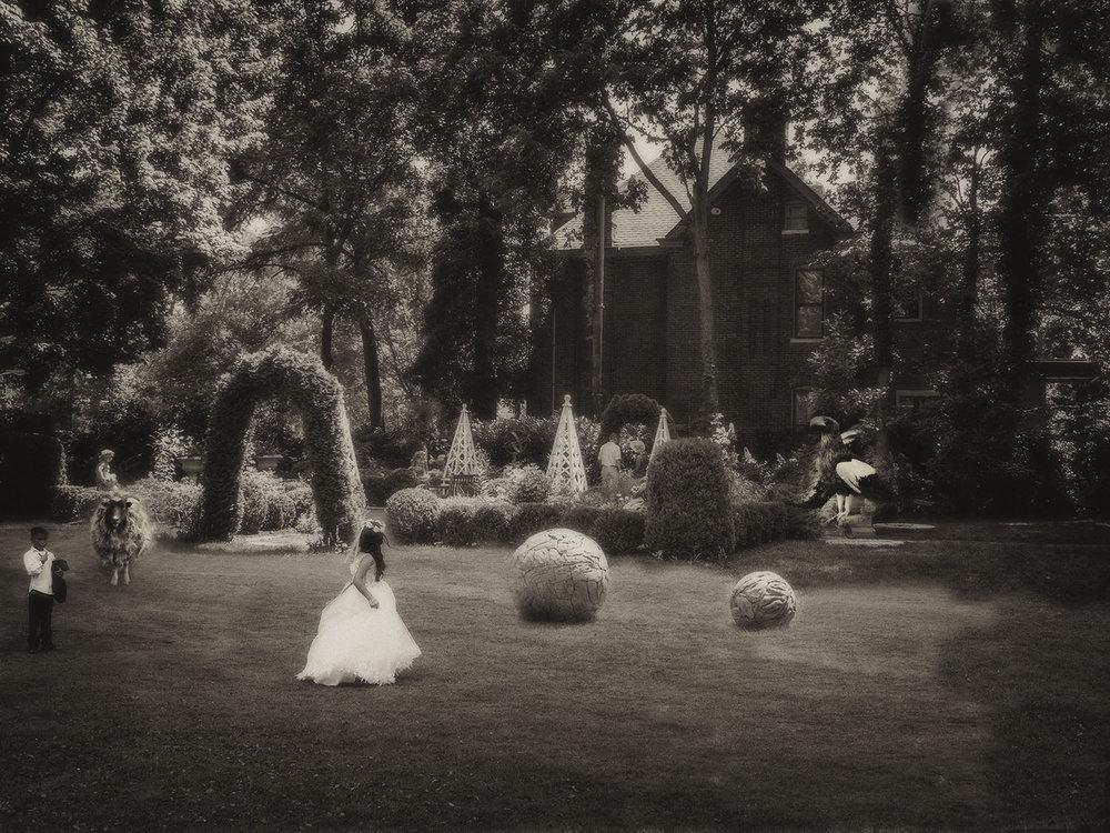 """Wedding"" by Marcia Hopkins, 17x22in, digital archival print (2017), $500 | BUY NOW"