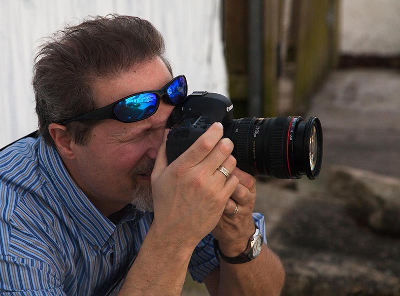 Photographer, Garin Horner (Photo by Colleen Small)
