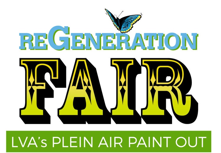 LVA will be on-site at Waterfront Botanical Gardens' annual free, family-friendly fair with our Plein Air Paint Out. Come see – and celebrate – the transformation of neglected green space in Butchertown into the thriving Waterfront Botanical Gardens. Grab a bite from local food trucks and enjoy live music, crafts, demos, nature activities and more! 8:00 am – Site opens for Plein Air painters. 2:00-5:00pm – ReGeneration Fair (open to the public) 3:00pm – Paintings will be turned in for judging. 3:30pm – Award presentation. 3:30-5:00pm – Sale of paintings