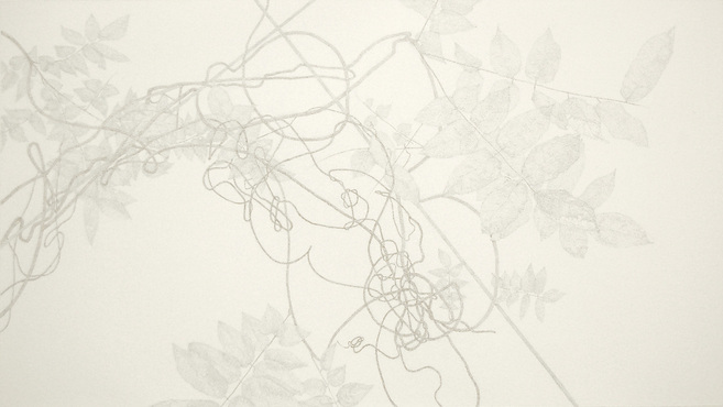 """The Liminal Series- Cycloid Arches"" by James Grubola,  silver and goldpoint  22x30in, POR"