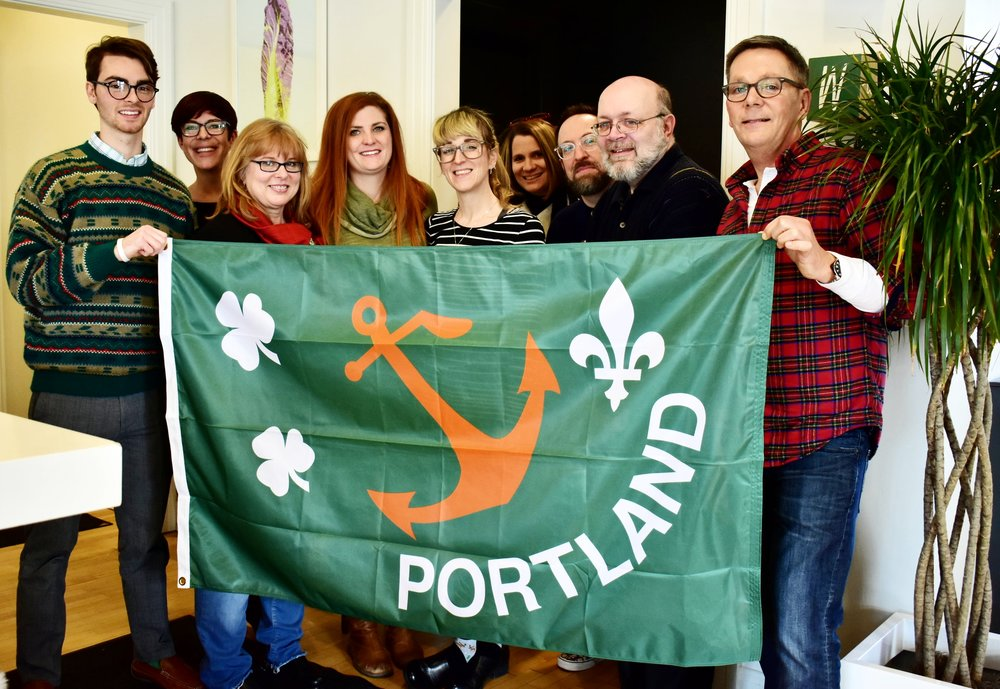 The staff of LVA wishes you a very happy New Year from Portland and beyond! Thank you for continuing to support art and education - we wouldn't be here if it wasn't for you!