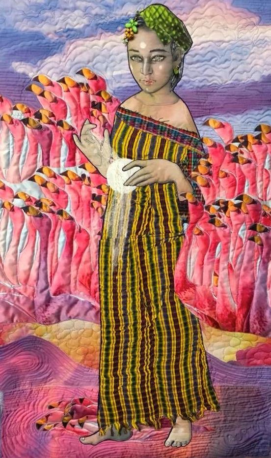 """Flamingos"" by Penny Sisto"