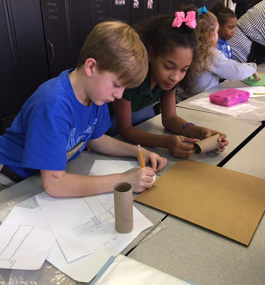 Thanks to the Louisville Water Foundation for sharing this photo with us!  As they said , Bates Elementary School students created water towers with awesome partners LVA, Fund for the Arts and the Louisville Water Company!