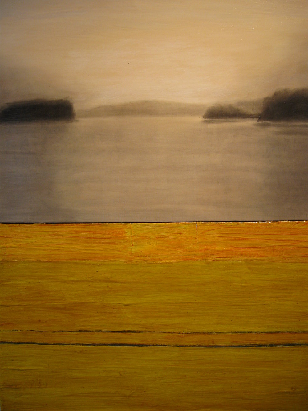 """Calendar #2"" by Chuck Swanson.Acrylic on canvas, 54x40in, POR"