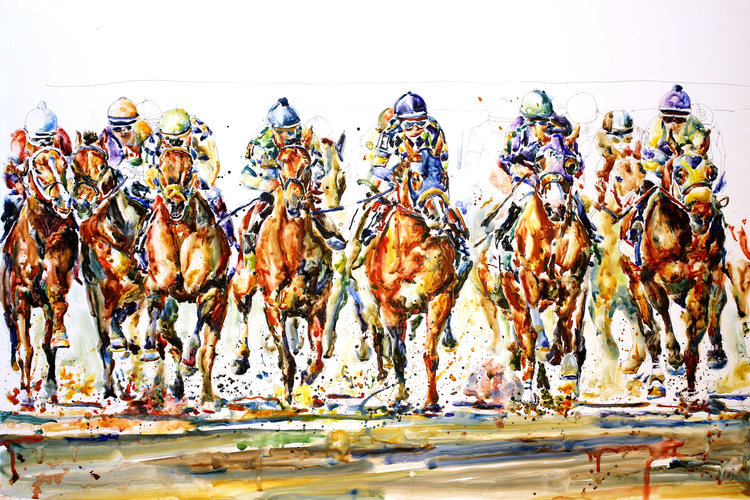 """Derby Field #2"" by Richard Sullivan"