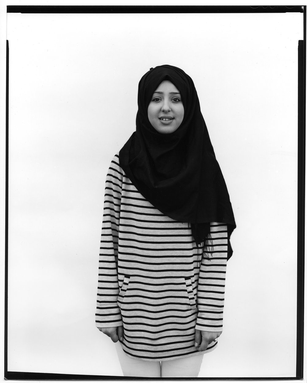 """Loreen Suleiman (Kurdistan"") by Zed Saeed, Settled in Louisville by Catholic Charities-Migration and Refugee Services, Gelatin Silver Print, 20x24in, NFS"
