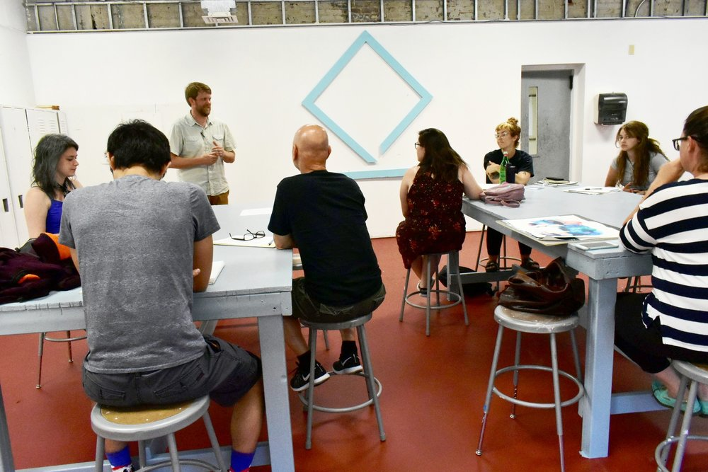 The Future Is Now is a mentorship program that matches high school students with professional local artists. We are excited to continue our partnership with  The Kentucky College of Art + Design!