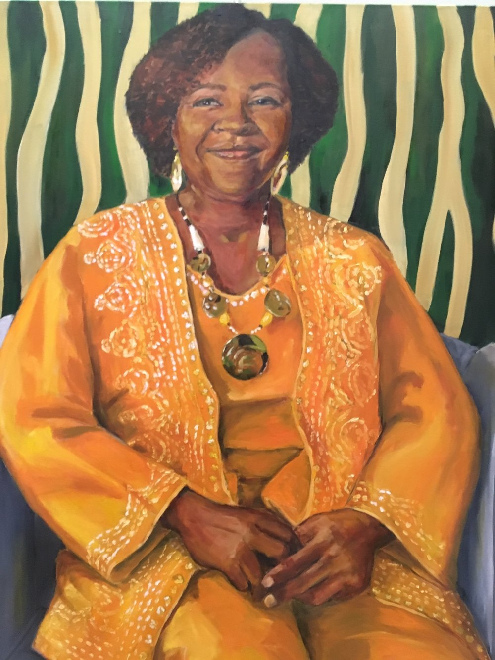 """Living Monument, Angela Hollingsworth"" by Sandra Charles"