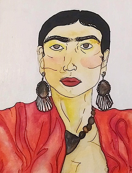 """Frida Kahlo"" by Alexis Fromm"