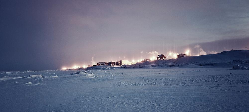 Barrow ocean edge. Photo by Dessi Lyutakova