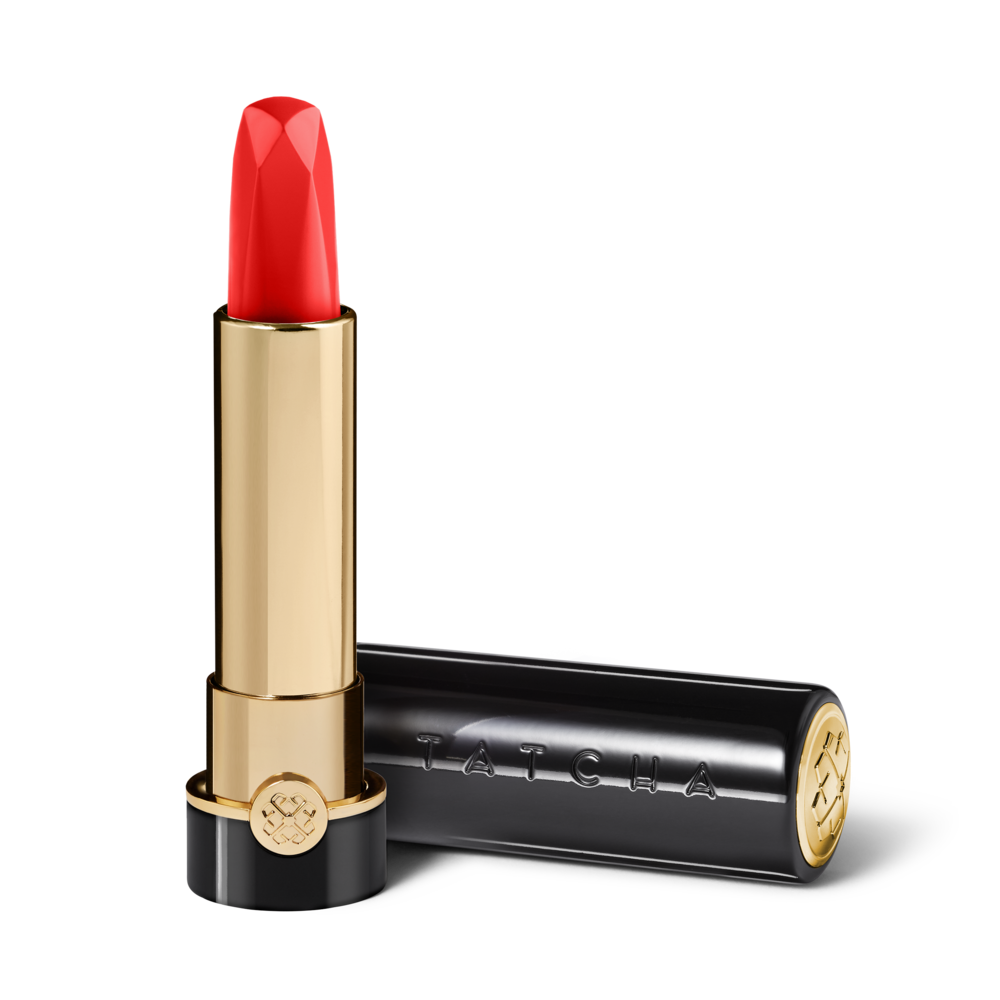 TATCHA Silk Lipstick in Kyoto Red, $55