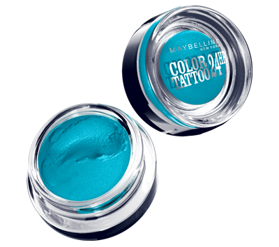 Maybelline Eye Studio Color Tattoo 24 Hour Cream Gel Shadow in Tenacious Teal