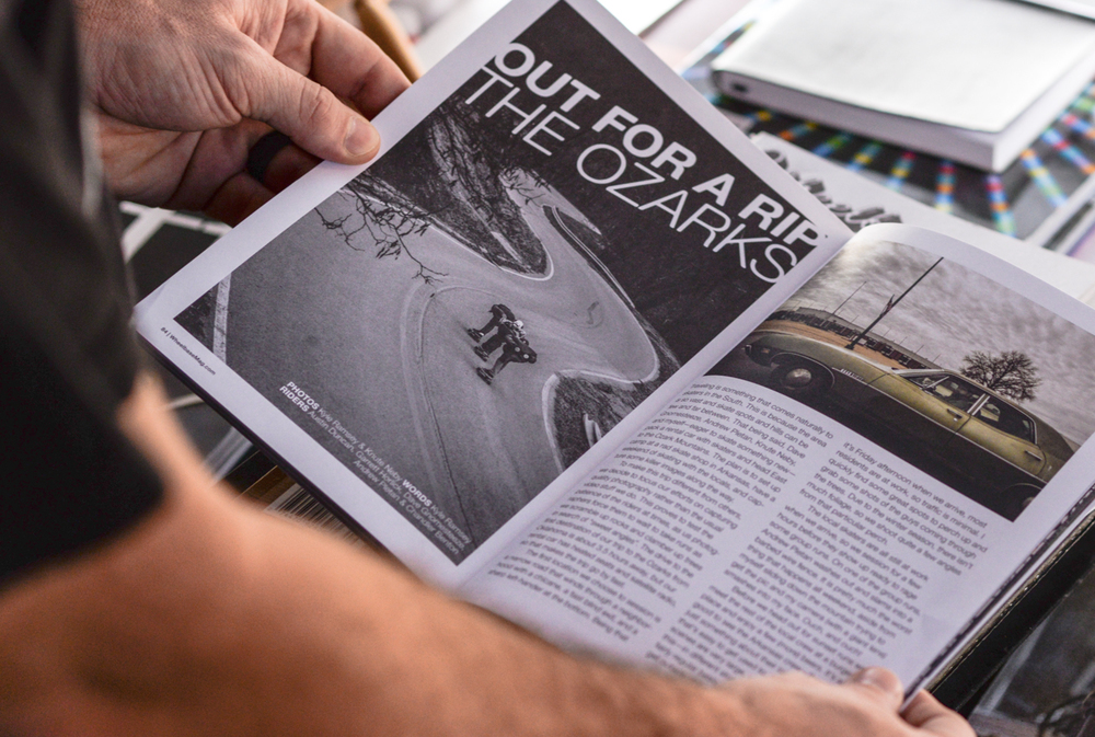 """Out for a Rip – The Ozarks"" – Article for Wheelbase Magazine: Issue 3"