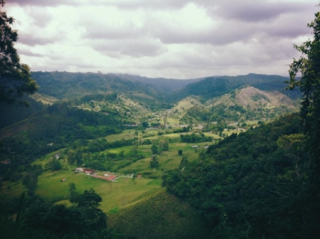 View from Yambolombia