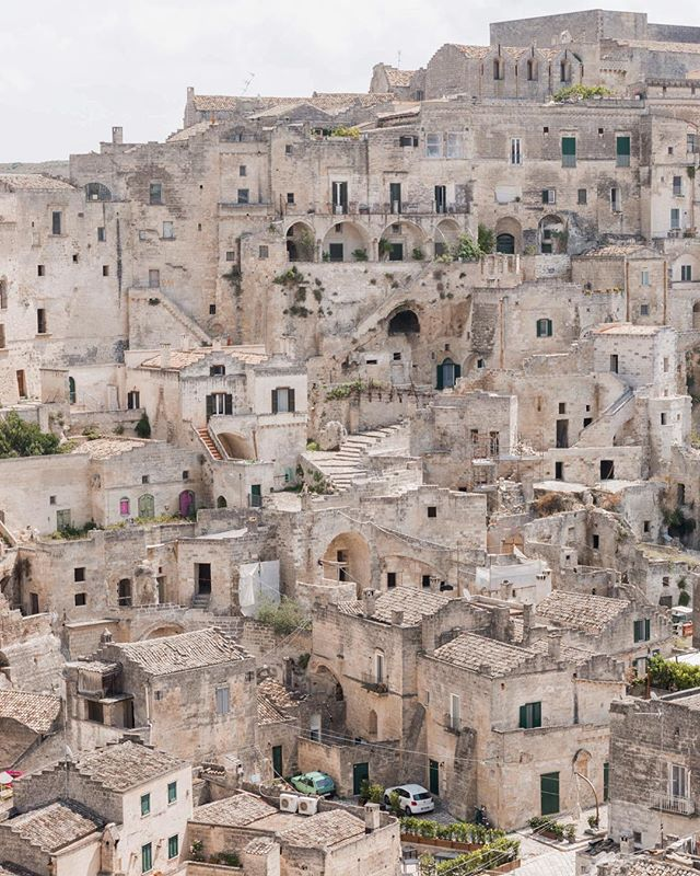Welcome to the ancient Italian city of Matera ✨
