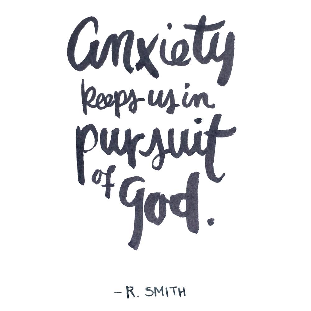 From The Anxious Christian by Rhett Smith