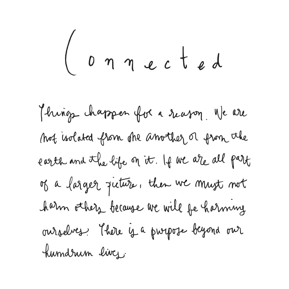connected my word for mundane type it s the perfect word for me because it allows me to value and use my strength in the areas of my life that are most important to me
