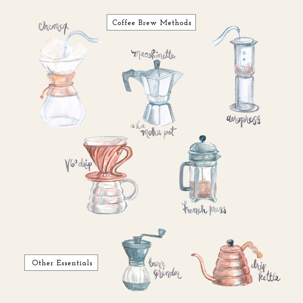 """Let's brew."" by Sojung Lee Illustration.  I am shifting my focus away from Graphic Design to pursue Illustration. See more on my new portfolio on  Cargo Collective ."