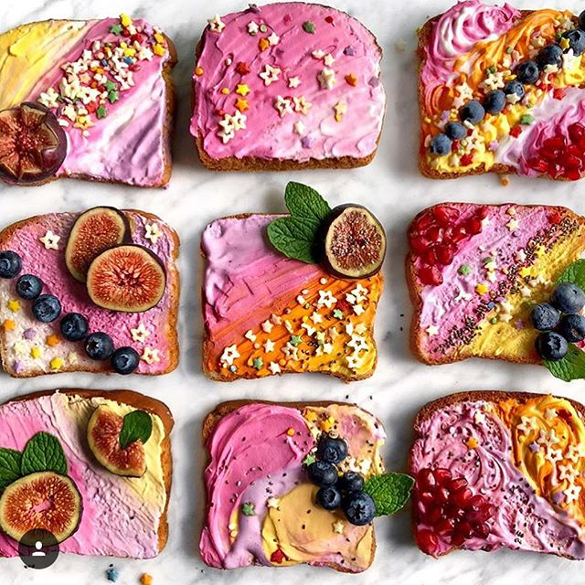 Stuff you're making that's making us smile: Unicorn Cakes, Watermelon Cakes, and super superfluous toasts. 🙌🏼✨ Double high fives to our amazing chefs @elisastrauss @toyourhealthbakery @dabblingchef @fit_n_clean_mama @fitmomfoods @alyssagagarin @ladylentils @beeyourhealth @foodbymars @pretty_balanced @livesandforks @sullivanstreeteats @balanced_life_leslie @feedyoursister & @investmintbaker - happy weekend everyone!