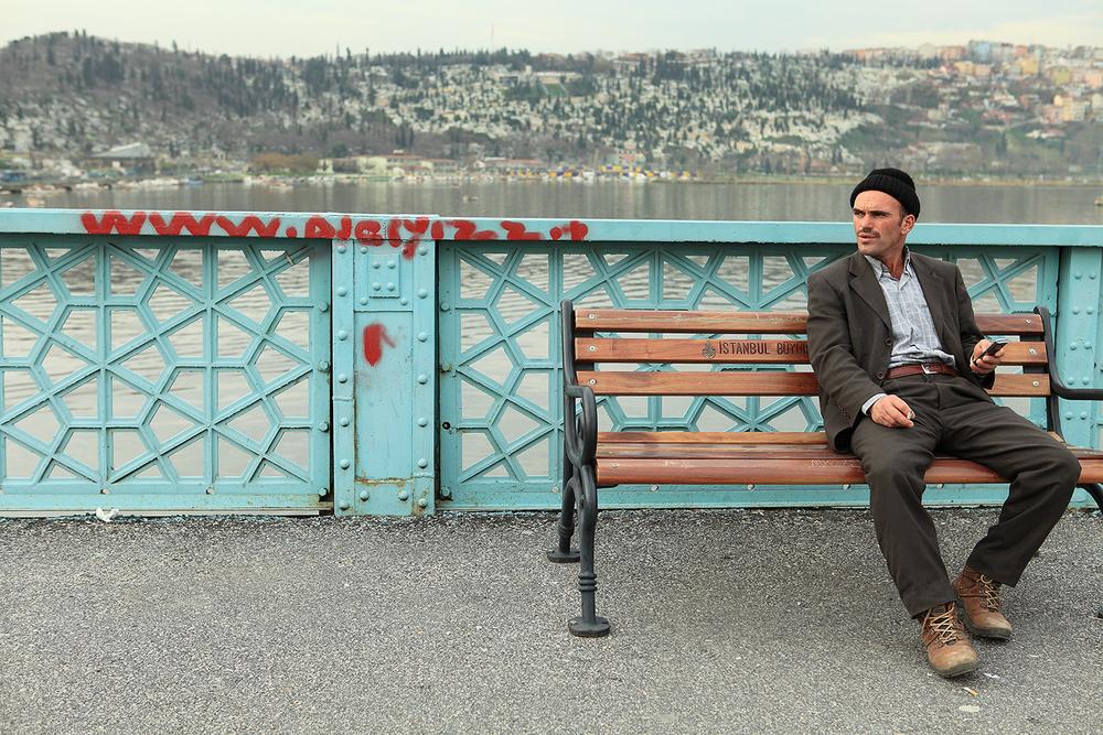 Ponte Vecchio di Galata.Istanbul, Turchia2010
