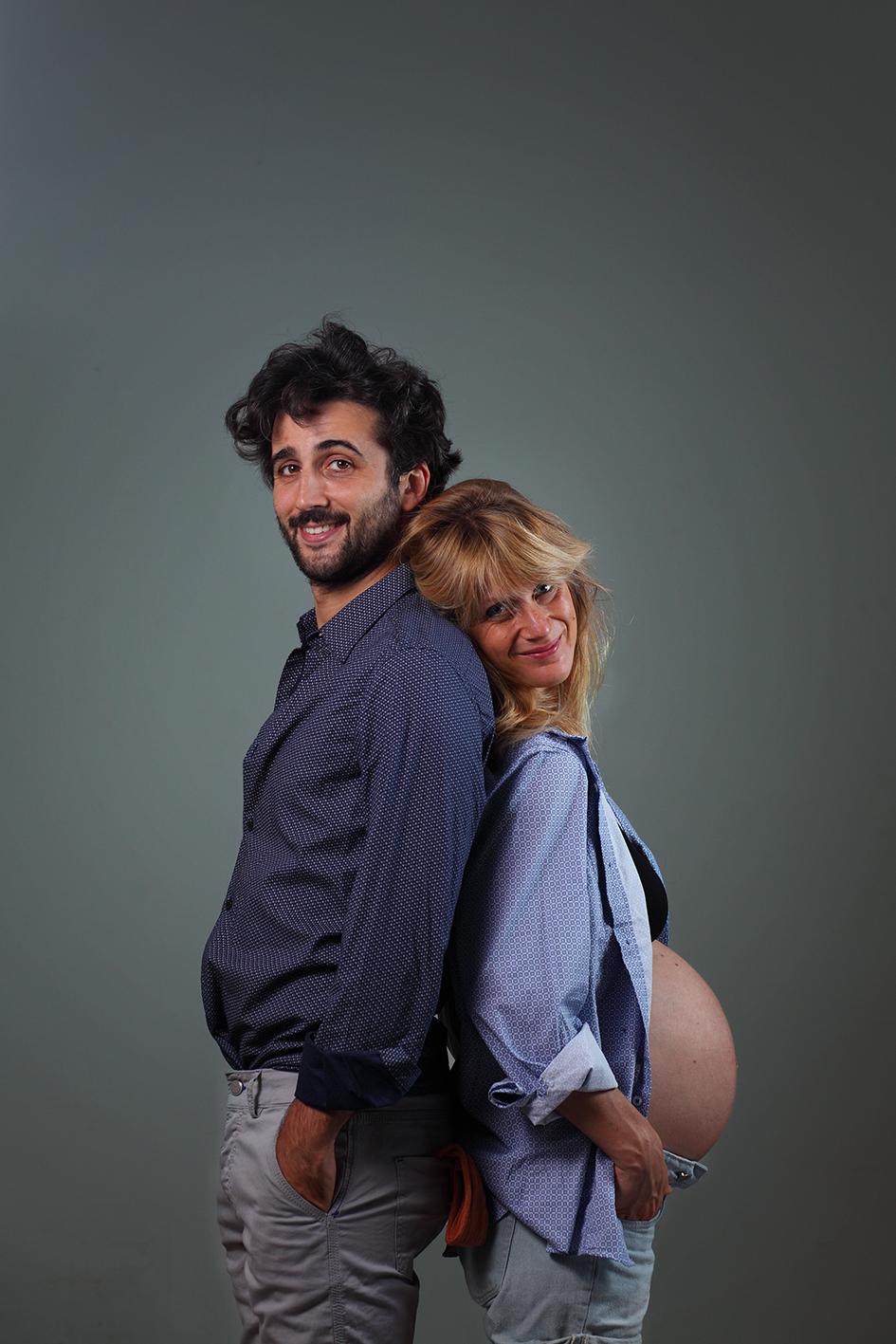 Sara e Fabio. Genitori