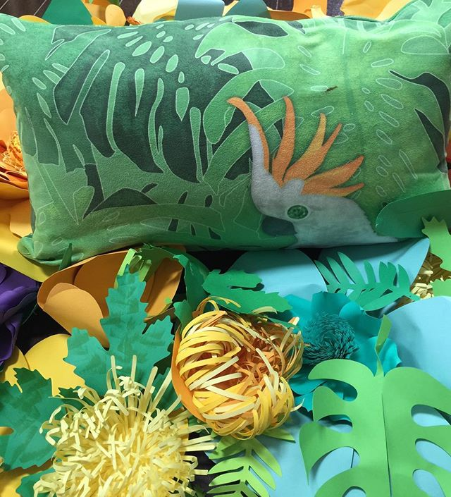 Experience Paradise with our Emerald pillow  #textiledesign #paradise #pillowcollection #homedecor #interiordecor #design #residentialdesign #hospitality #interiors #homefurnishings