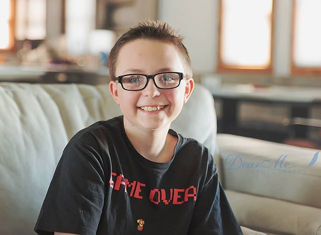 Meet Berkley, a wonderful 11 year old boy diagnosed with #autism  To learn more about Berkley click the link in my bio and go to the Awareness & Acceptance tab on the website!  #facesofautism  #autismacceptance #autistickids #autismspectrum #autismawarenessmonth #differentnotless  #dearmephotography #thefacesofautism #bismarcknd #mandan