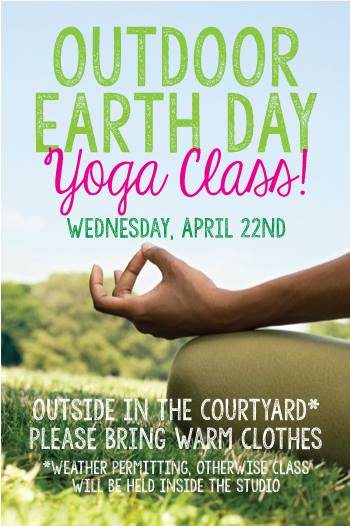 Join me for a beautiful, grounding Earth Day Yoga Class at Well Within Studio in East Hampton!