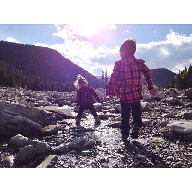 Exploring Kananaskis Country with our kids
