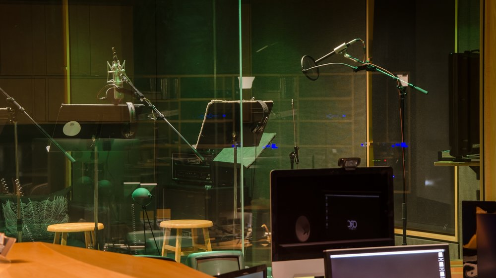 Voiceover Recording - Whisper quiet booths and expert engineers make the difference when recording your VO at CRC.