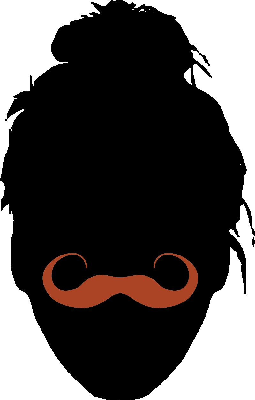 Realistic Moustache -